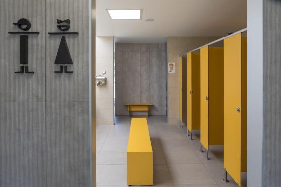 Banys de càmping a Platja d'Aro