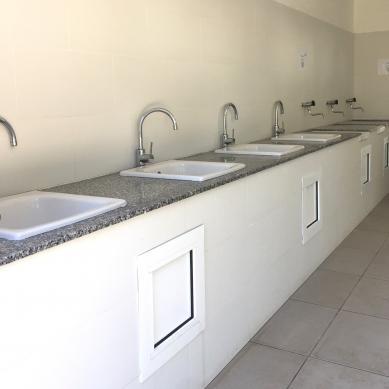 Zona de lavaplatos