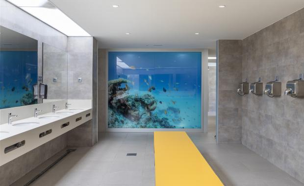 Interior sanitaris de càmping
