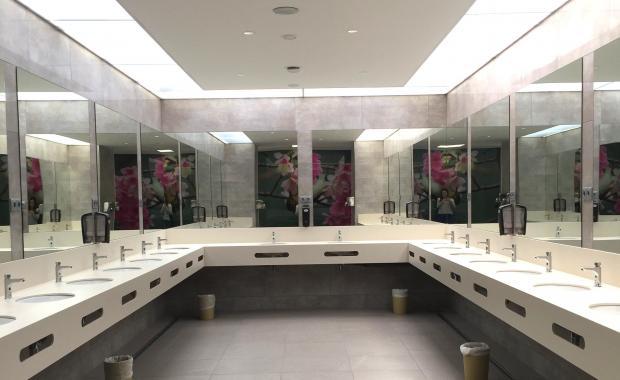 Banys de càmping completament equipats