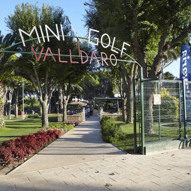 Minigolf Valldaro entrada