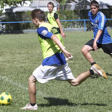 Fútbol para adolescentes