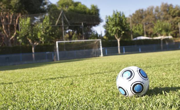 Camp de futbol a Platja d'Aro de l'Càmping Valldaro