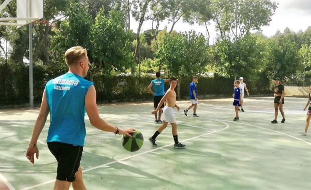 Partit de bàsquet